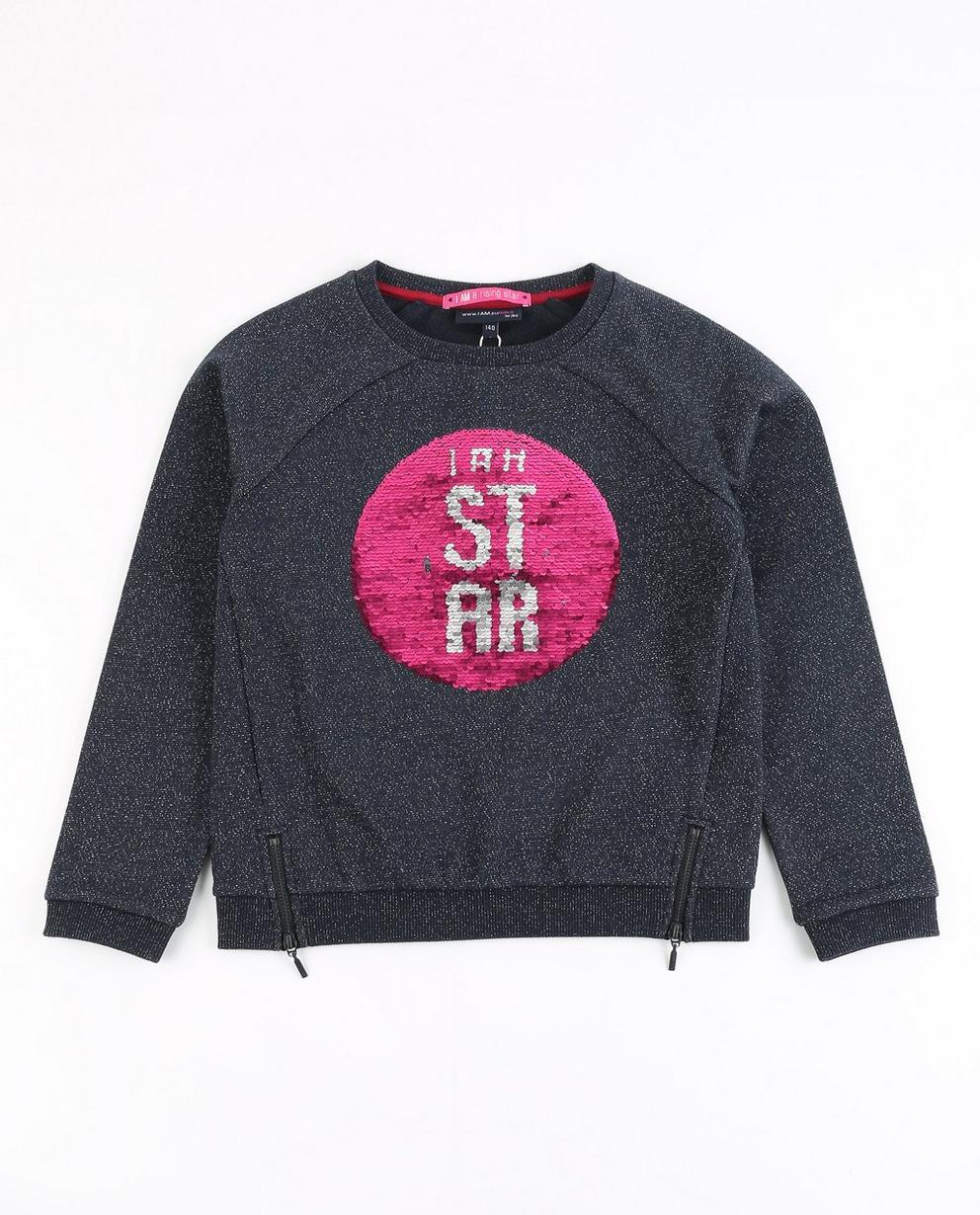 Sweater mit Pailletten - I AM - I AM